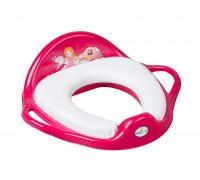 Детская накладка на унитаз Tega baby Little Princess розовая LP-020-123
