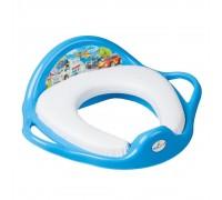 Детская накладка на унитаз Tega baby Cars голубая CS-020-120