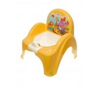 Горшок-стульчик Tega Baby музыкальный Сафари желтый PO-041-124