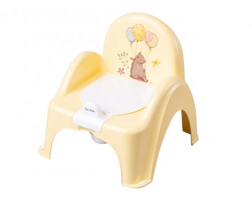 Горшок стульчик Tega baby Лесная сказка желтый FF-007-109