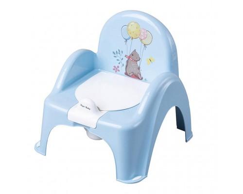 Горшок стульчик Tega baby Лесная сказка голубой FF-007-108