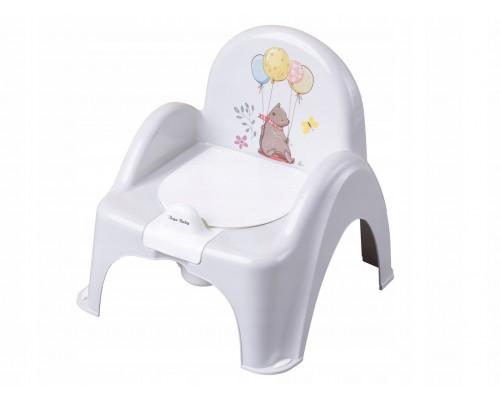 Горшок стульчик Tega baby Лесная сказка серый FF-007-111