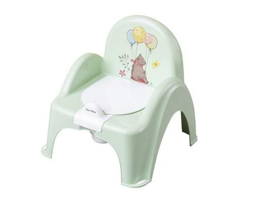 Горшок стульчик Tega baby Лесная сказка зеленый FF-007-112