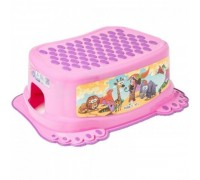 Детская подставка для ванной Tega Baby Сафари розовая SF-013-127