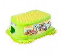 Детская подставка для ванной Tega Baby Сафари зеленая SF-013-125