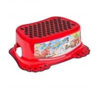 Детская подставка для ванной Tega Baby Cars красная CS-006-121