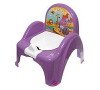 Горшок-стульчик Tega Baby Сафари фиолетовый SF-010-128
