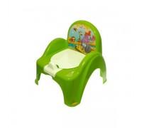 Горшок-стульчик Tega Baby Сафари зеленый SF-010-125