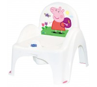 Горшок-стульчик Tega Baby музыкальный Свинка Пеппа PO-068-103-R