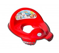 Детская накладка на унитаз Tega baby Машинки красная CS-002-121