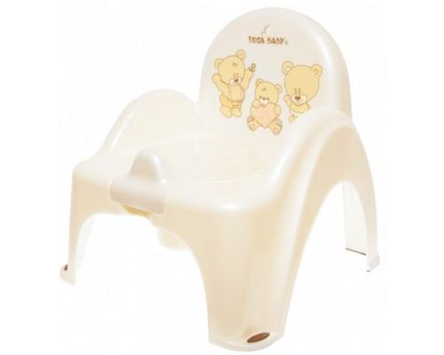 Горшок-стульчик Tega Baby Teddy Bear MS012-118 White