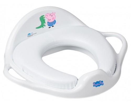 Детская накладка на унитаз мягкая Tega baby Свинка Джордж PP-020-103-N