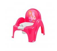 Горшок стульчик TEGA принцесса с музыкой розовый РО-054-123