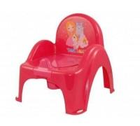 Горшок стульчик Tega принцессы розовый LP-007