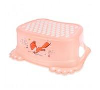Подставка для ног антискользящая Tega baby лесная сказка розовый FF-006-107
