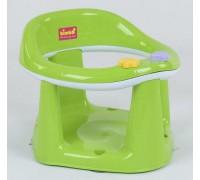 Детское сиденье для купания на присосках зеленое с белым 11121