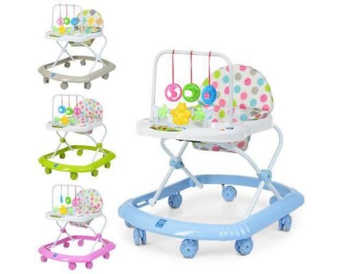 Ходунки детские Bambi M0591-S  с силиконовыми колесами