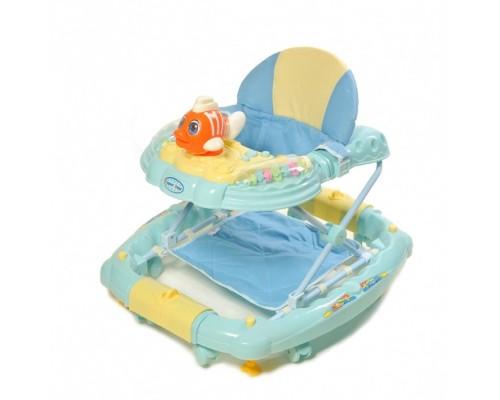 Ходунки Baby Tilly 3 в 1 рыбка 6220