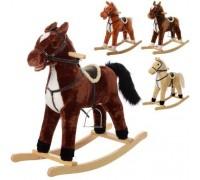 Лошадка качалка музыкальная MP0082 4 цвета