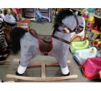 Лошадка качалка 77*72*35 см 2 цвета