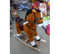 Лошадка качалка  65*60*35 см 2 цвета