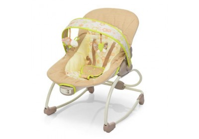 Шезлонг-качалка детский 6910