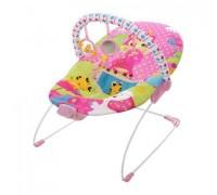 Шезлонг-качалка детский Mastela 6790 розовый