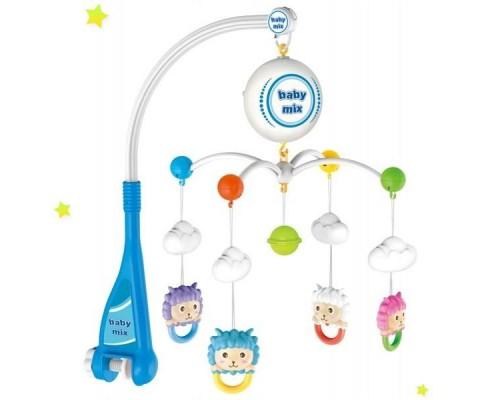 Мобиль карусель на батарейках Овечки Baby Mix HS-1668M