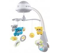 Музыкальная карусель с проектором Baby Mix FS-35604 Grey