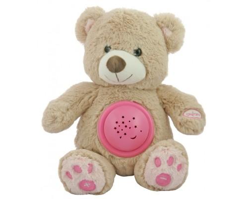 Проектор музыкальный Baby Mix Мишка STK-18956 pink