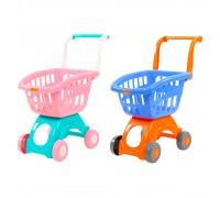 Тележка для супермаркета Polesie 71262 2 цвета