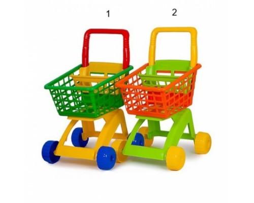 Тележка для супермаркета Polesie 7438 2 цвета