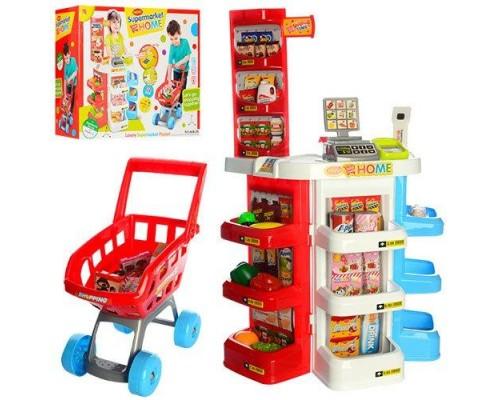 Игровой набор Супермаркет 668-20 с тележкой