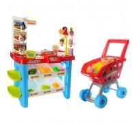 Игровой набор Супермаркет 668-22 с тележкой