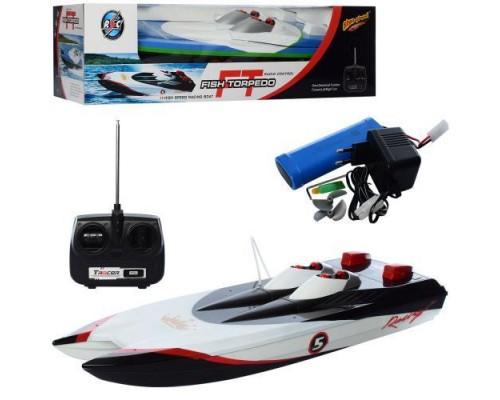 Катер на радиоуправлении Fish Torpedo Create Toys 3252 75 см 2 цвета
