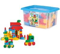 Конструктор Wader Middle Blocks 132 элемента в коробке для мальчиков 41270