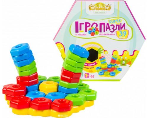 Игрушка развивающая игро-пазлы Тигрес 39315 39 элементов