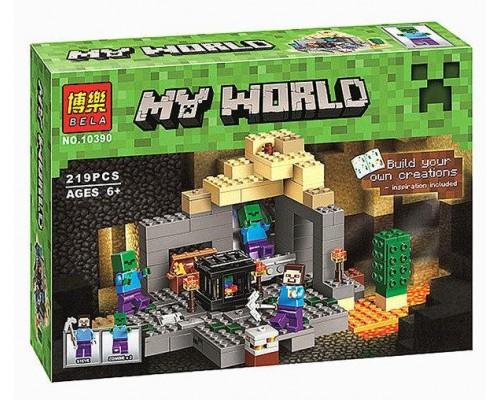 Конструктор Bela Minecraft 10390 Подземелье