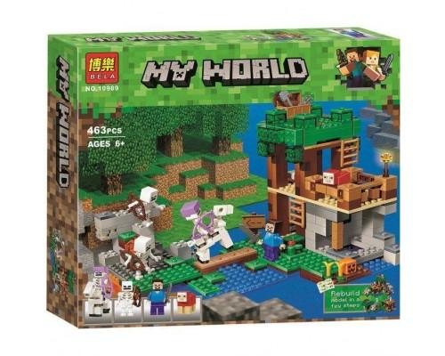 Конструктор Bela Minecraft 10989 Нападение армии скелетов