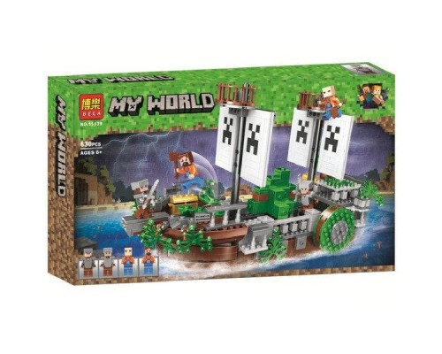 Конструктор Bela Minecraft 11139 Сражение на корабле