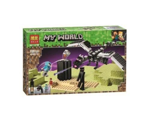 Конструктор Bela Minecraft Последняя битва 11169