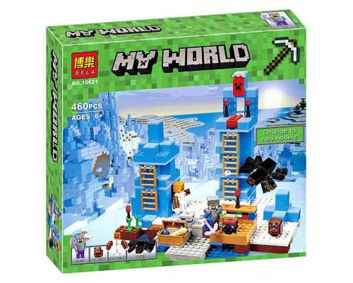 Конструктор Bela Minecraft 10621 Ледяные шипы