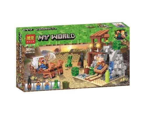 Конструктор Bela Minecraft 11137 Погоня