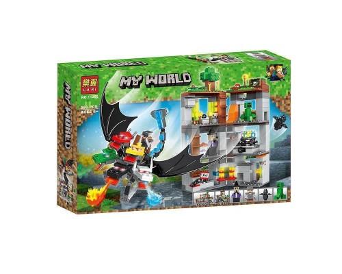 Конструктор Bela Minecraft 11268 Пятиглавый дракон
