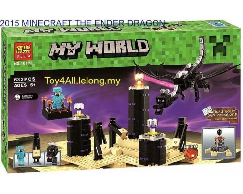 Конструктор Bela Minecraft 10178 Дракон Края Эндер