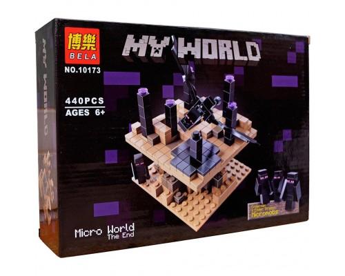 Конструктор Bela Minecraft 10173 Край