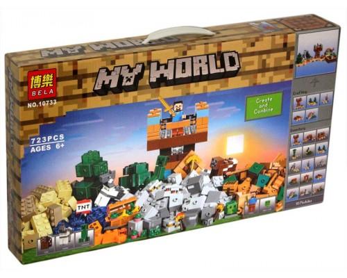 Конструктор Minecraft 10733 Верстак 2.0