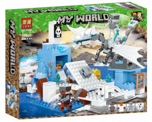 Конструктор Bela Minecraft 11266 Сражение с ледяным драконом
