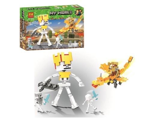 Конструктор Bela Minecraft 11264 Битва с Королем Скелетов