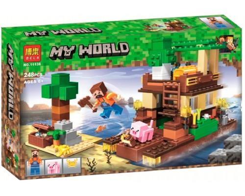 Конструктор Bela Minecraft 11136 Остров сокровищ